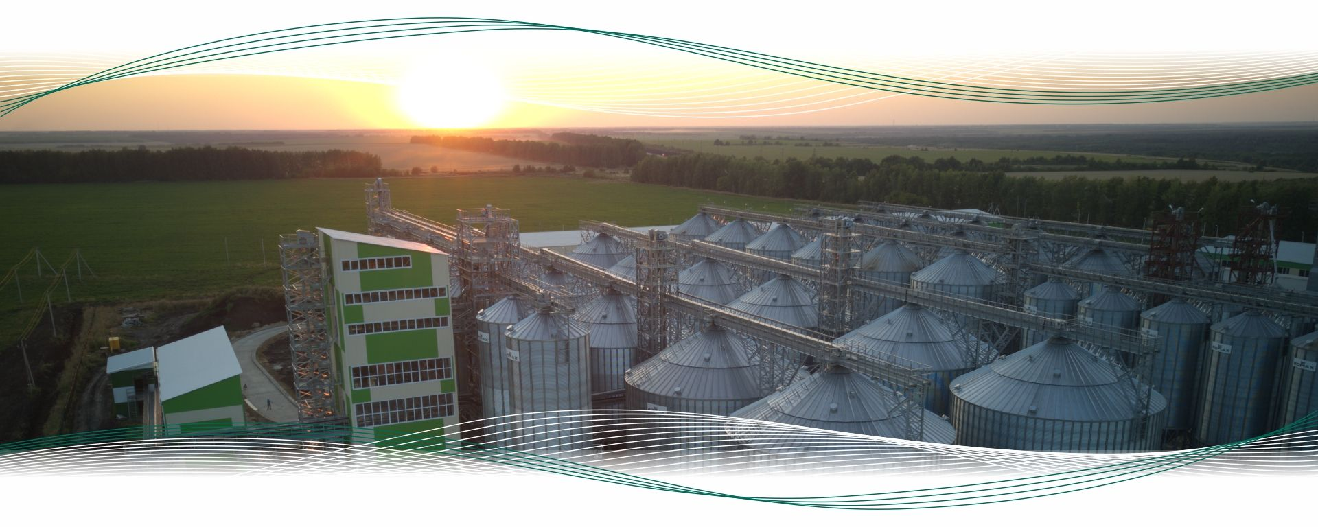 ROMAX. Equipment manufacturing for grain processing complexes