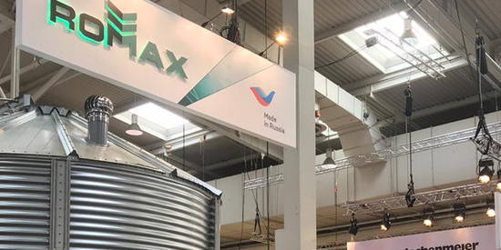 The success of ROMAX plat at Agritechnica 2019 in Hannover, Germany!