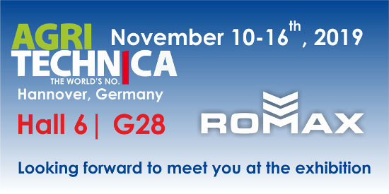 We invite you to the international exhibition Agritechnica 2019
